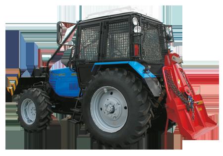 Трактор трелевочный Беларус ТТР-401М