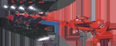 Полунавесной плуг ПО-4-40