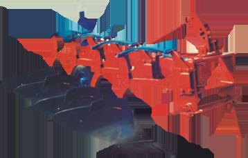 Навесной плуг ПКМП-4-40Р (ПКМ-4-40Р)